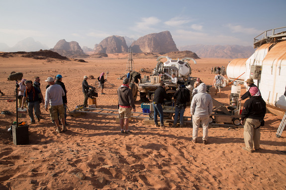 Wadi Rum Stands In For Mars: Located in southern Jordan, near the Saudi Arabian border, the Wadi Rum desert looks like a lot like Mars. But it has been inhabited by humans for more than 12,000 years.