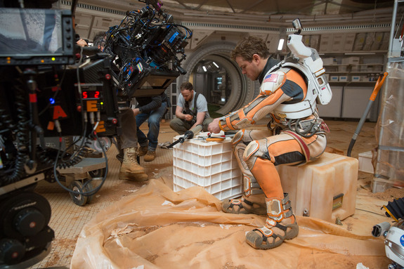 "Ingenuity = Survival:  The Martian astronaut Mark Watney – played by Matt Damon – never stops innovating, no matter what. And so he lives on, as has the human species; that's the metaphor of ""The Martian"""