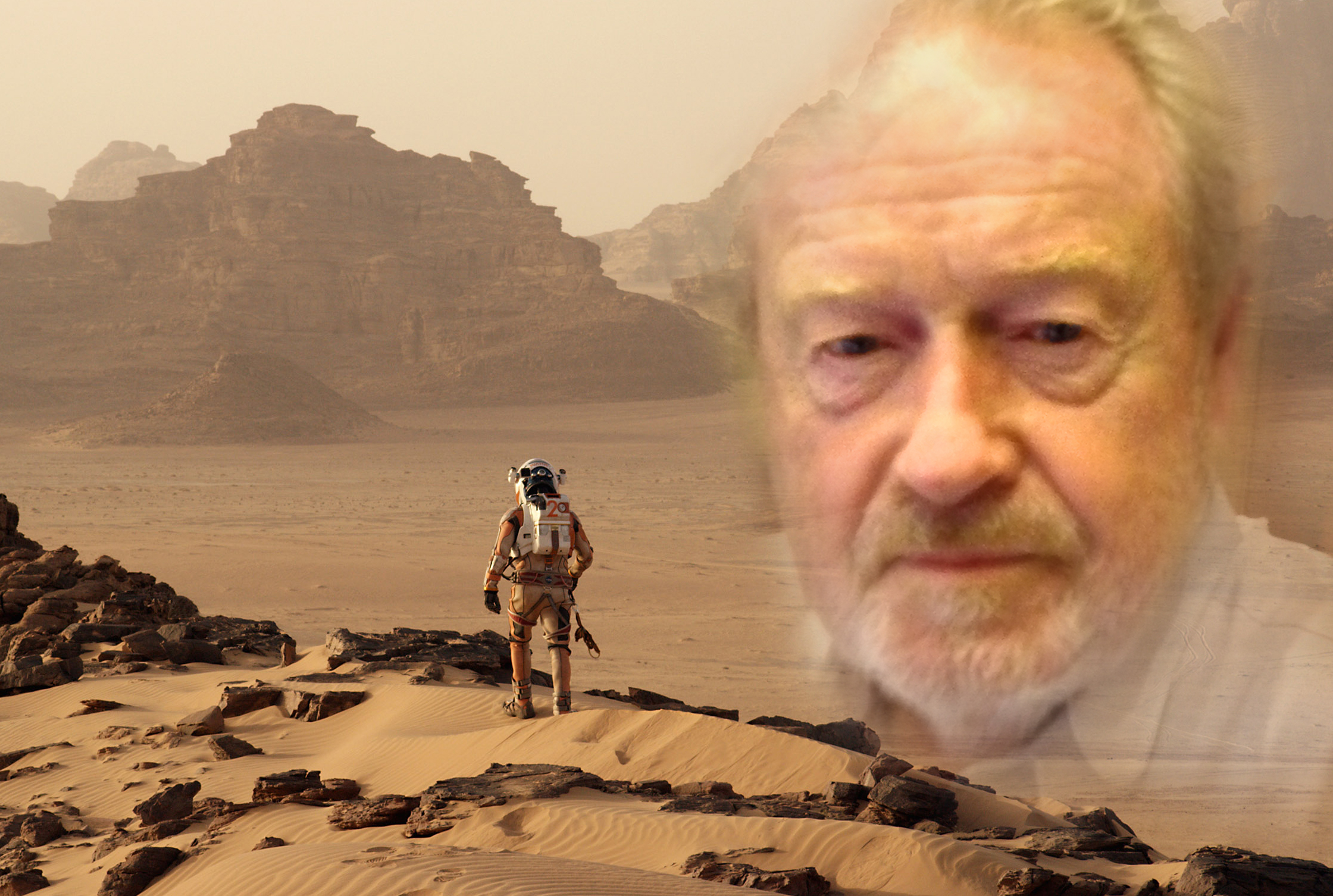 Making 'The Martian': Exclusive Interview with Director Sir Ridley Scott