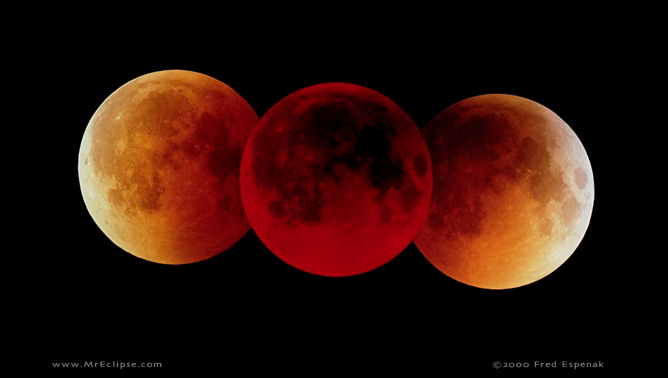 Wednesday's lunar eclipse will create a 'blood' moon