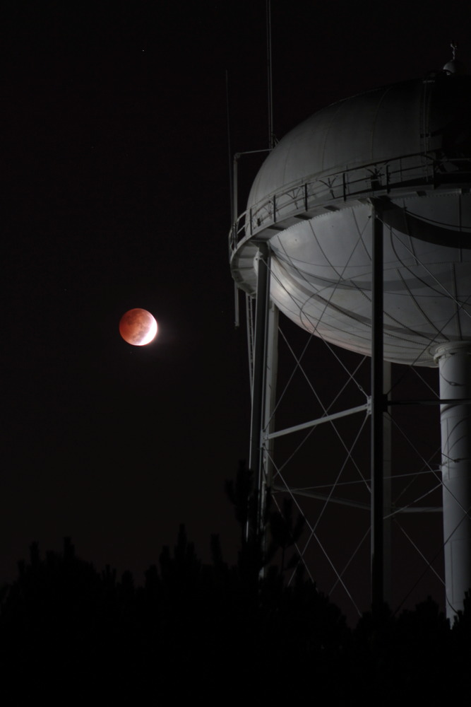 Blood Moon of 2014 Seen Over Georgia