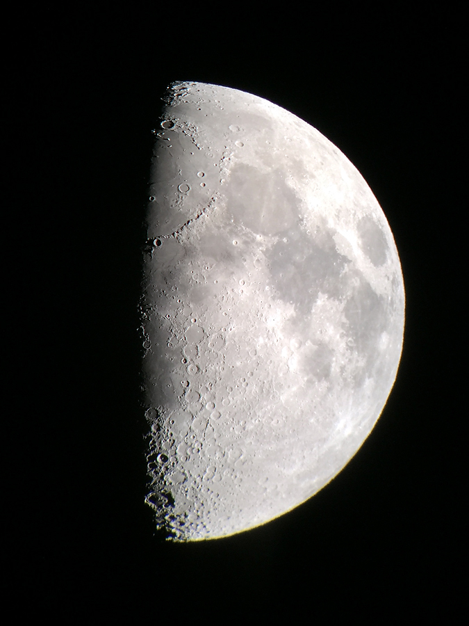 First-Quarter Moon 2015