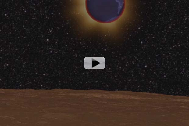 Moon's 500°F Temperature Swing Monitored During Lunar Eclipse | Video