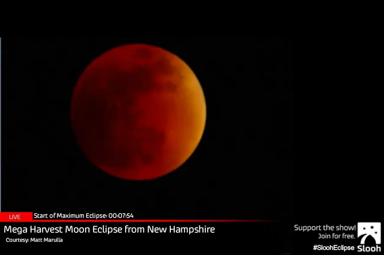 A Supermoon Total Lunar Eclipse