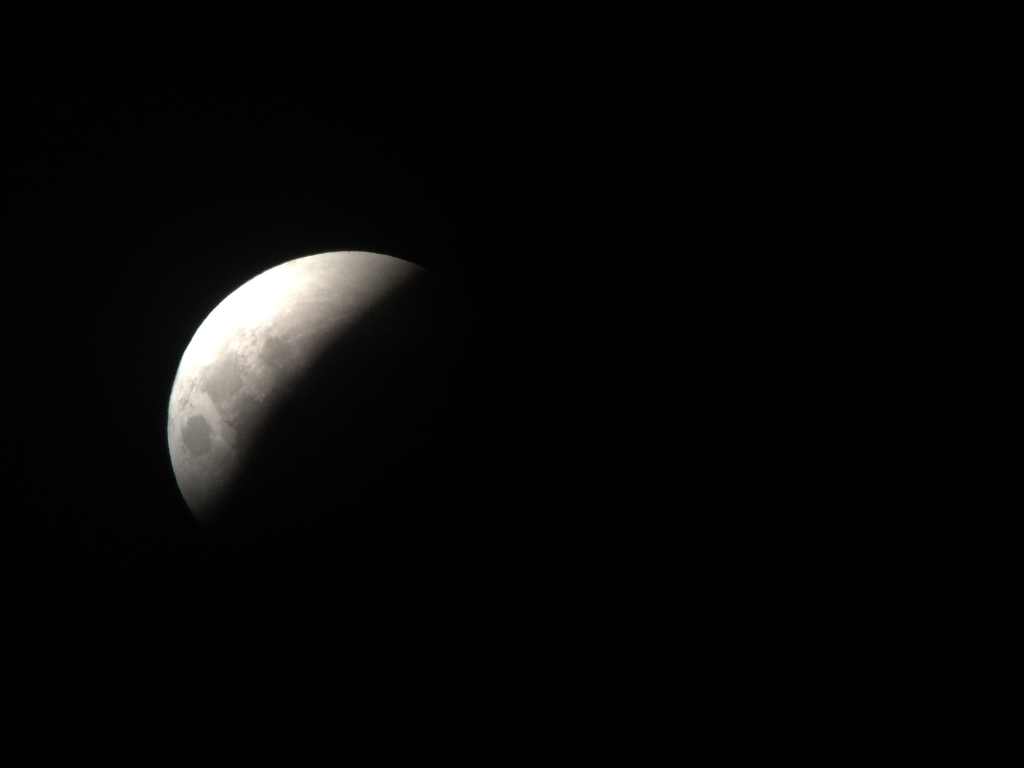 Supermoon Lunar Eclipse from Boston