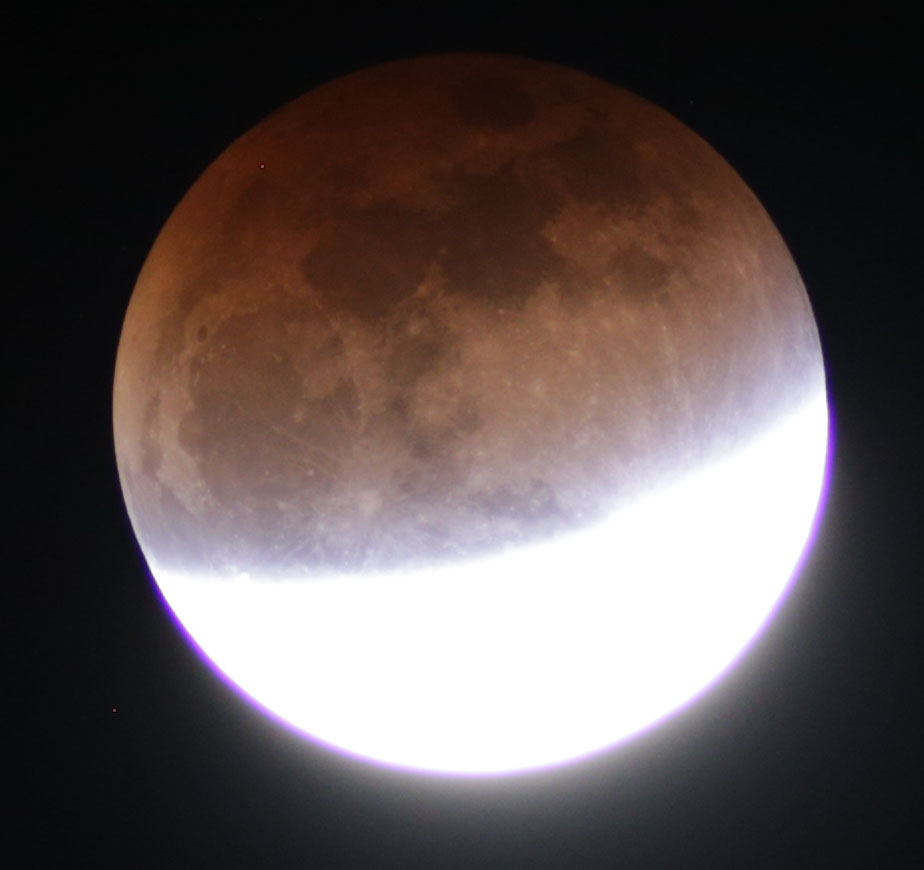 Supermoon Lunar Eclipse Mt Lemmon Sky Center