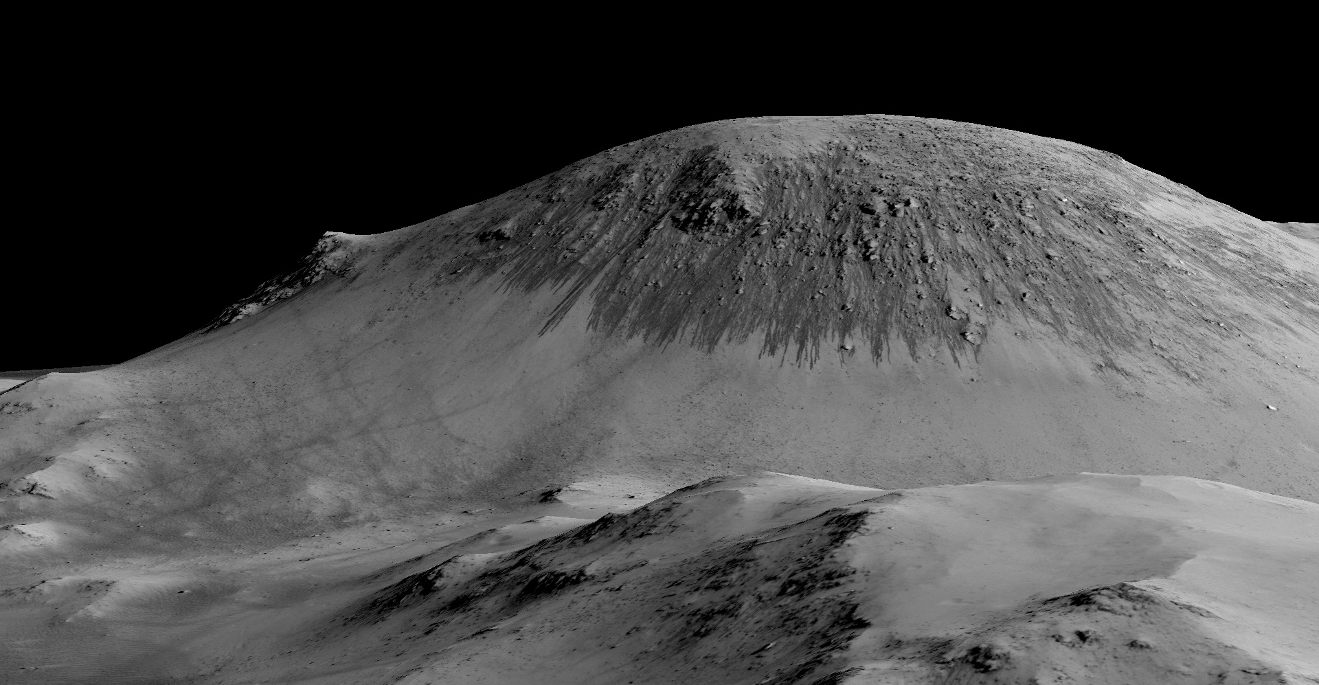 Slope Lineae at Horowitz Crater on Mars #1