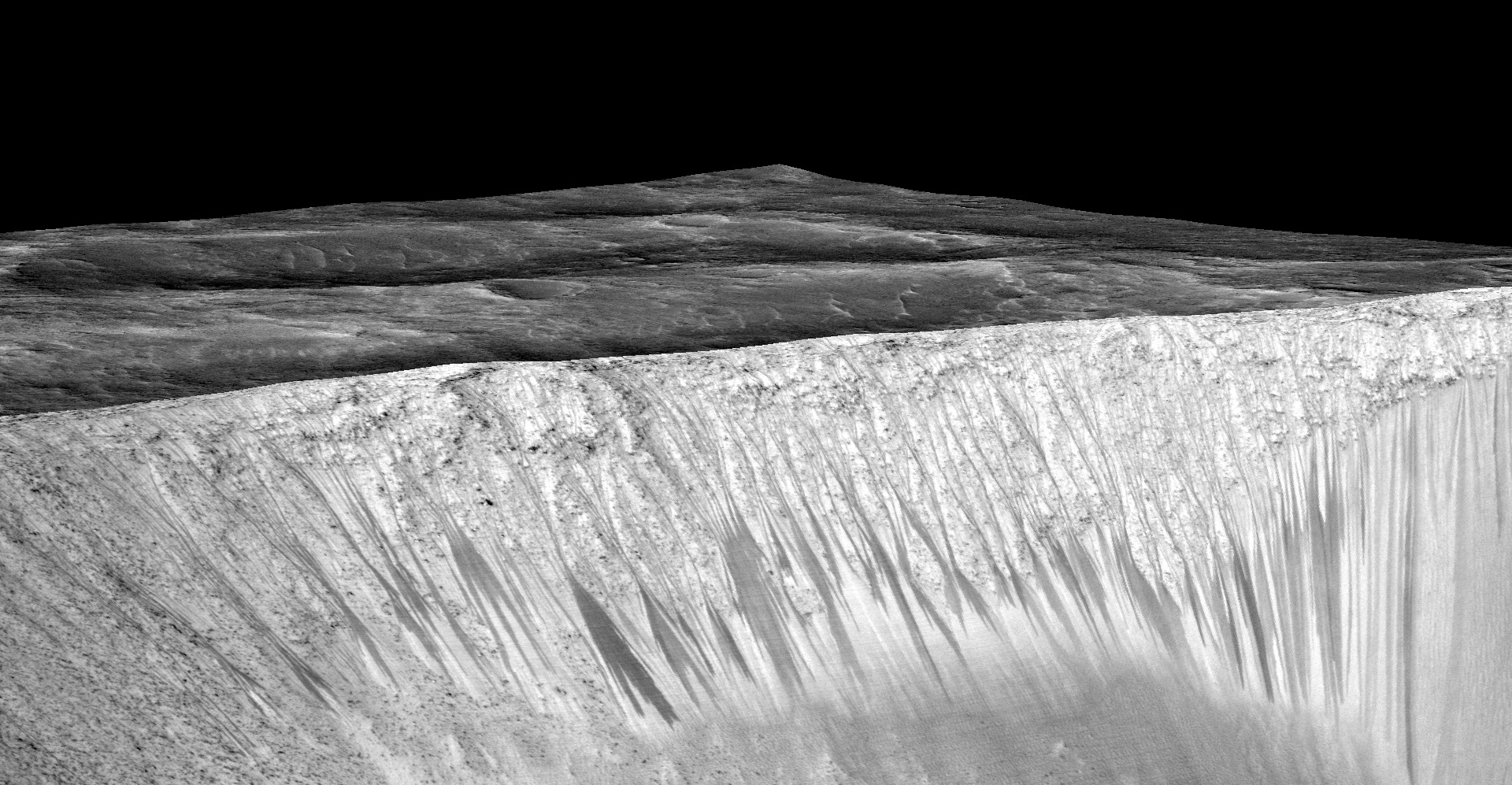 Slope Lineae at Garni Crater on Mars
