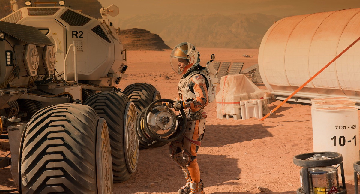 Damon in 'The Martian'