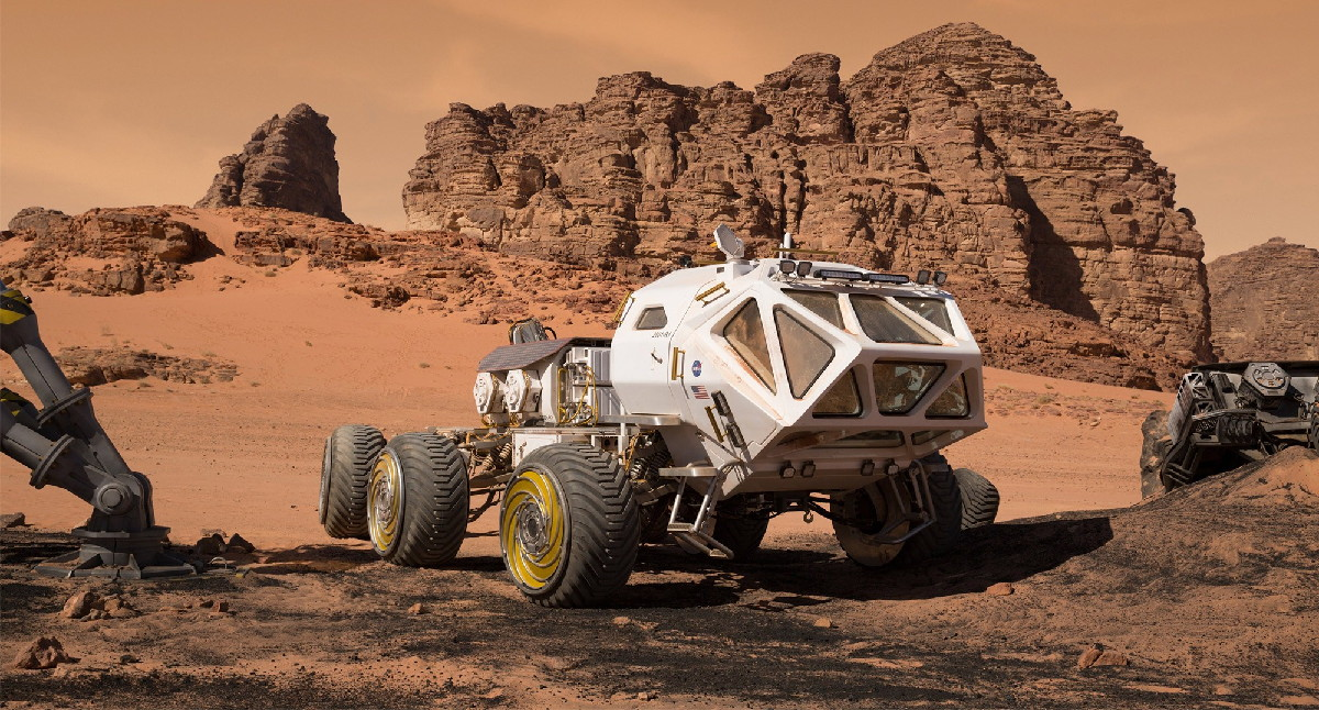 Rover in 'The Martian'