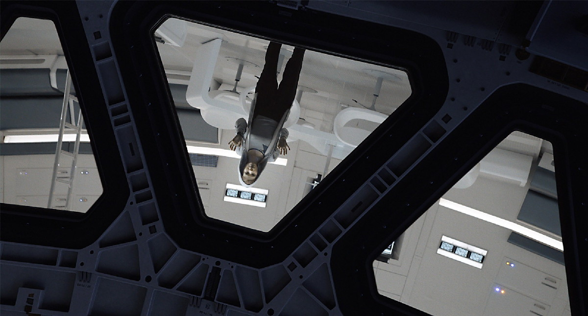 Aboard the Hermes Interplanetary Spacecraft in 'The Martian'