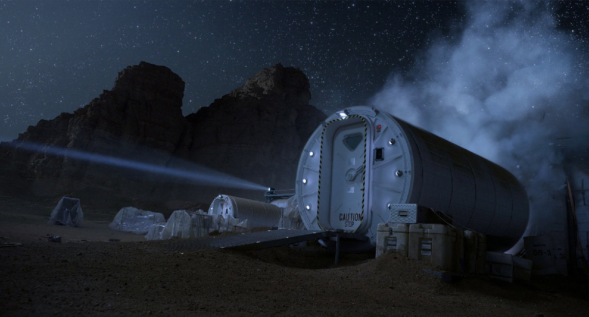 Mars Hab in 'The Martian'