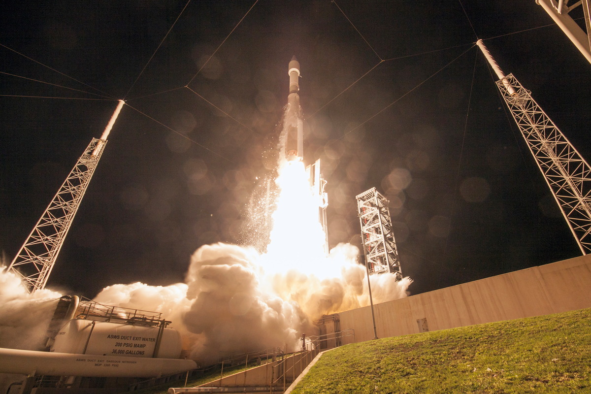 Atlas V Morelos-3 Launch