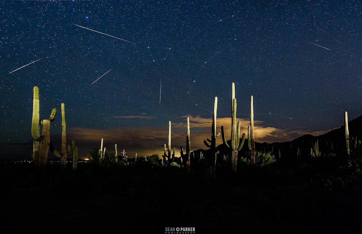 2015 Draconid Meteors in Arizona