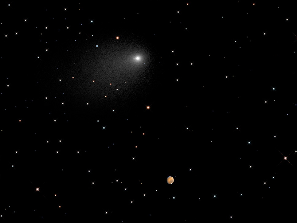 Comet Siding Spring and Mars