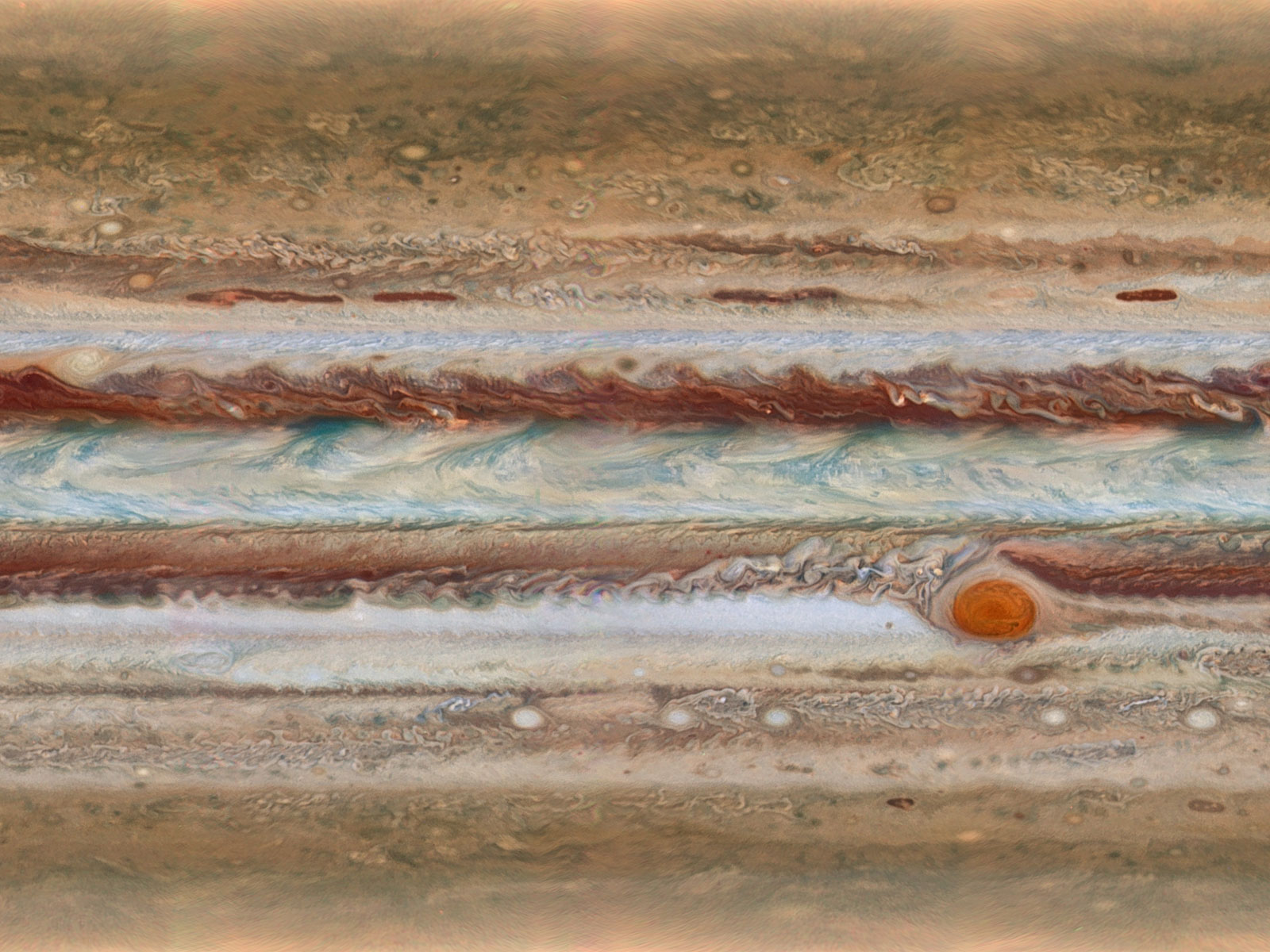 Jupiter, the Largest Planet in the Solar System | Space Wallpaper