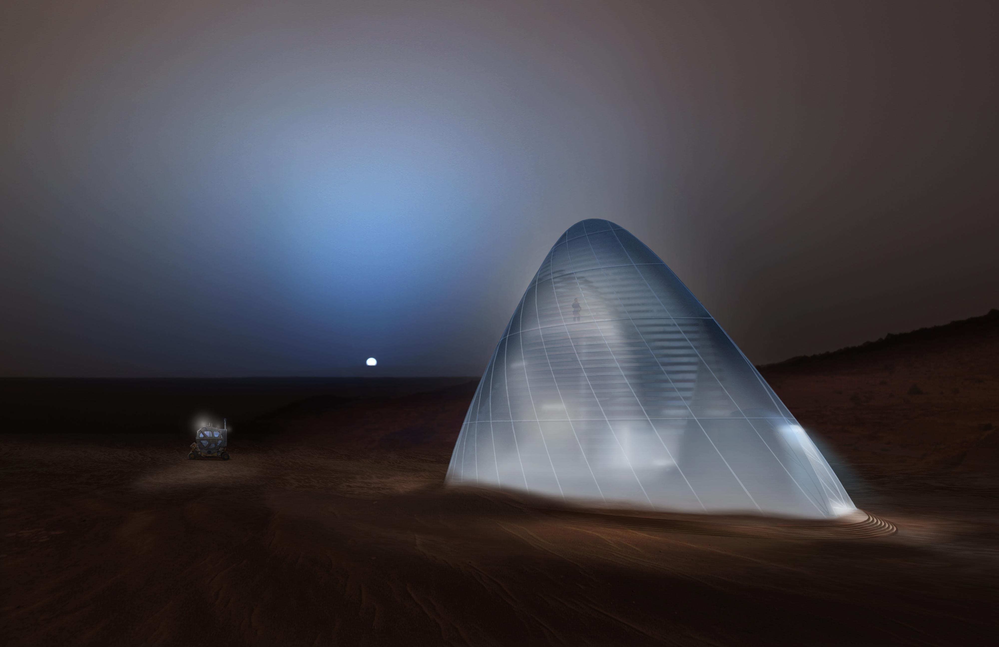 NASA Picks Winners for 3D-Printed Mars Habitat Design Contest