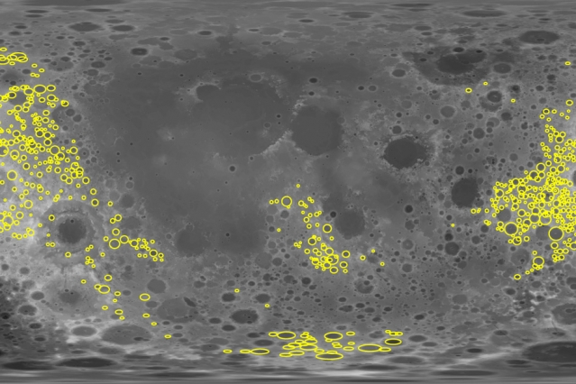 Moon's Shattered Crust Could Shed Light on Earth Life's Origins