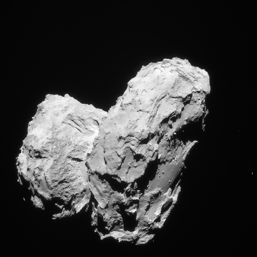 """Rubber Duck"" Shape of Comet 67P/Churyumov–Gerasimenko."