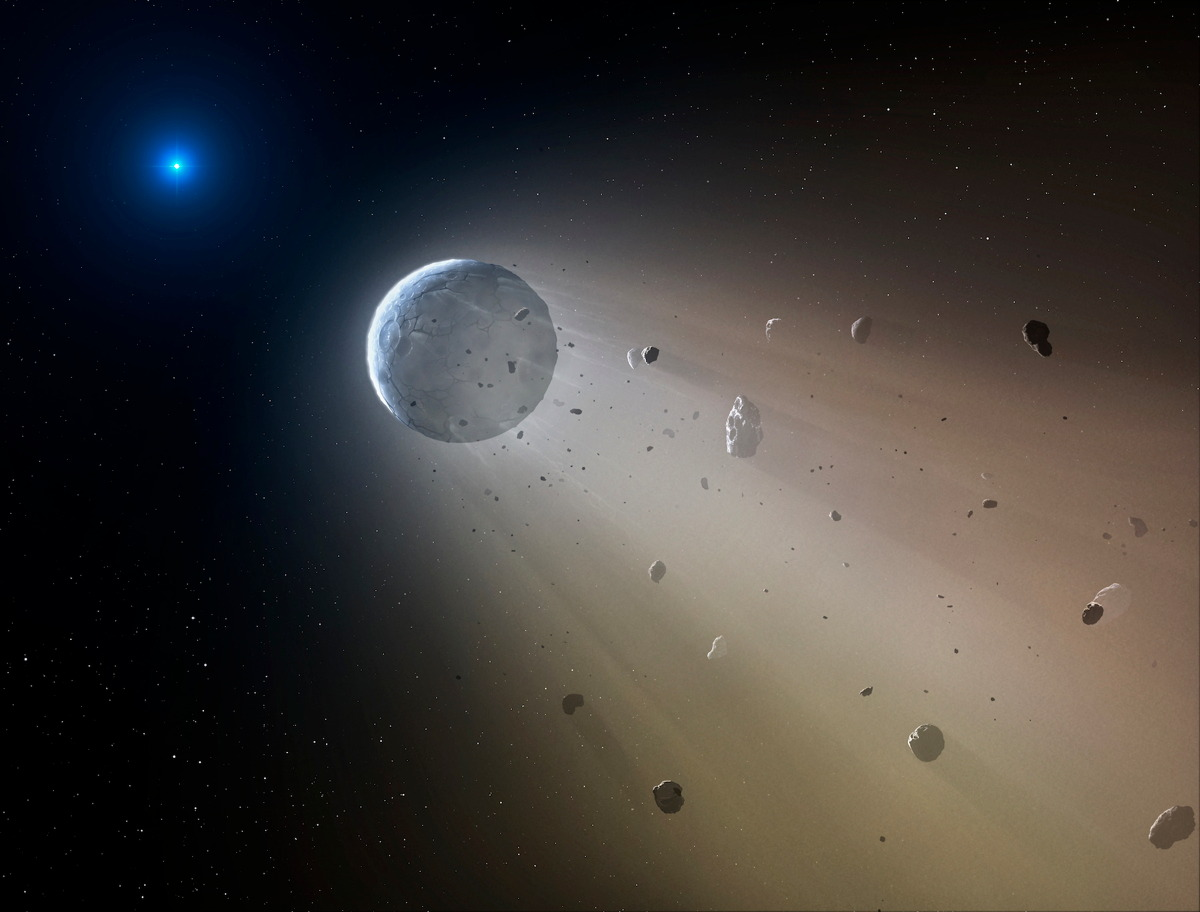 'Death Star' Vaporizes Its Own Planet: 1st Evidence