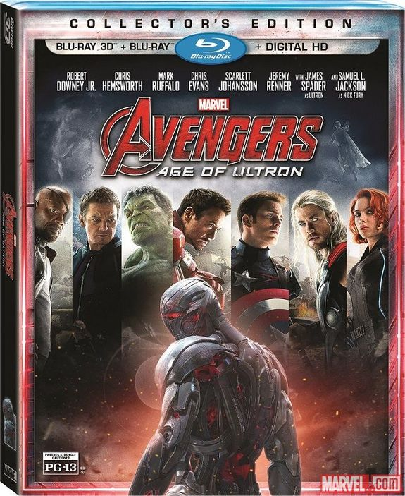 "Marvel's Avengers (re-)assemble to fight a malicious artificial intelligence in this collector's edition of the new blockbuster, directed by Joss Whedon. <a href="" http://www.amazon.com/dp/B00WAJ8QXC?tag=space041-20&ascsubtag=[sitespace[catNA[art27791[pidB00WAJ8QXCNA[bbcmanual"">Buy ""Marvel's Avengers: Age of Ultron (Collector's Edition)""</a>"