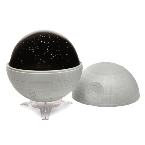 "Immerse yourself in the ""Star Wars"" and real-world universes with this planetarium projector. <a href=""http://store.space.com/space-star-wars-death-star-planetarium.html?&ICID=SPACE-kids-gift-guide-2015"">Buy Star Wars Death Star Planetarium</a>"