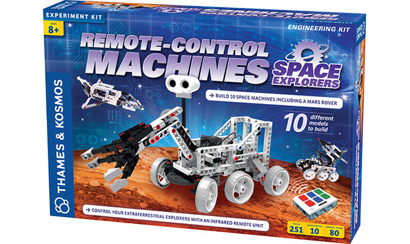 "Learn about robots in space and build your own remote-control machines with this science kit. <a href=""http://www.amazon.com/dp/B00TF8Z88W?tag=space041-20&ascsubtag=[sitespace[catNA[art27797[pidB00TF8Z88WNA[bbcmanual"">Buy Remote-Control Machines: Space Explorers Science Kit</a>"