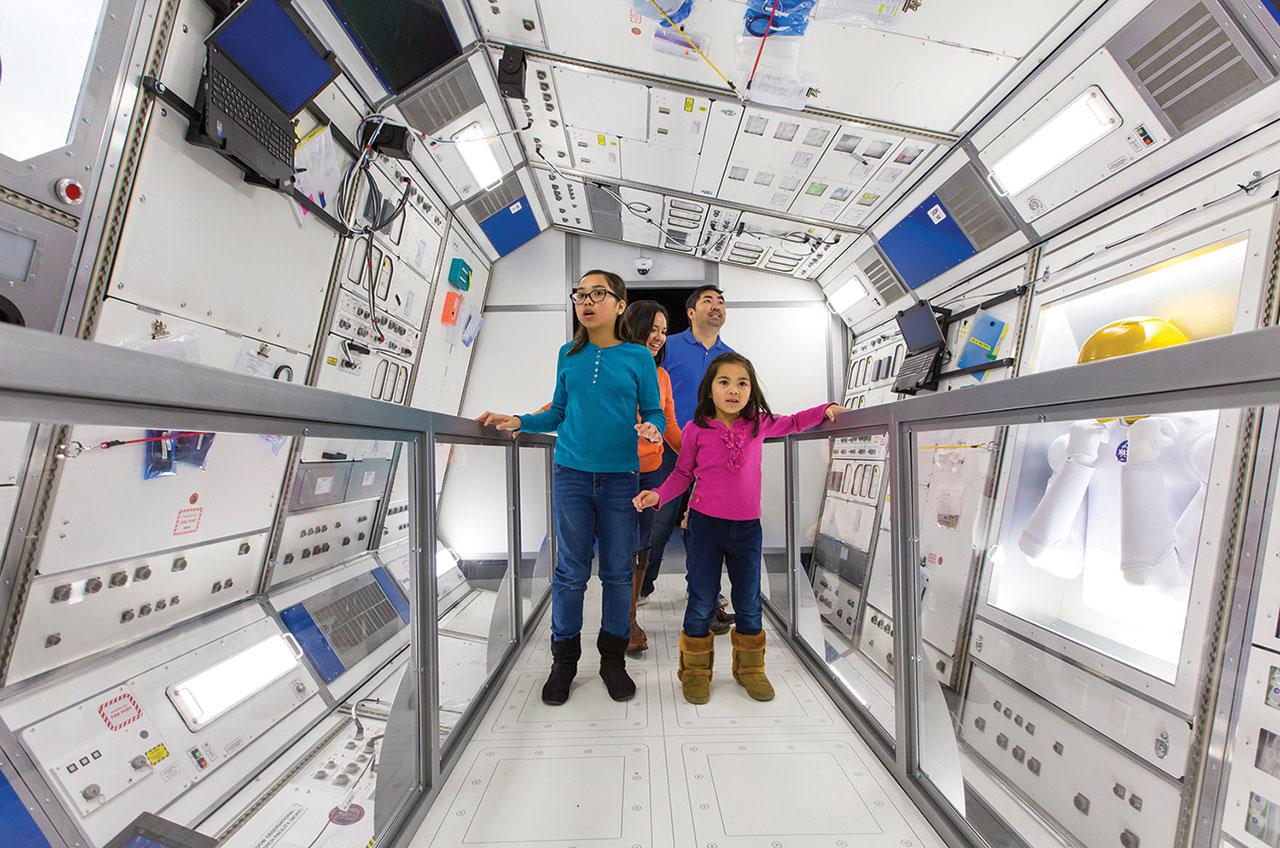 'Journey to Space' Exhibit