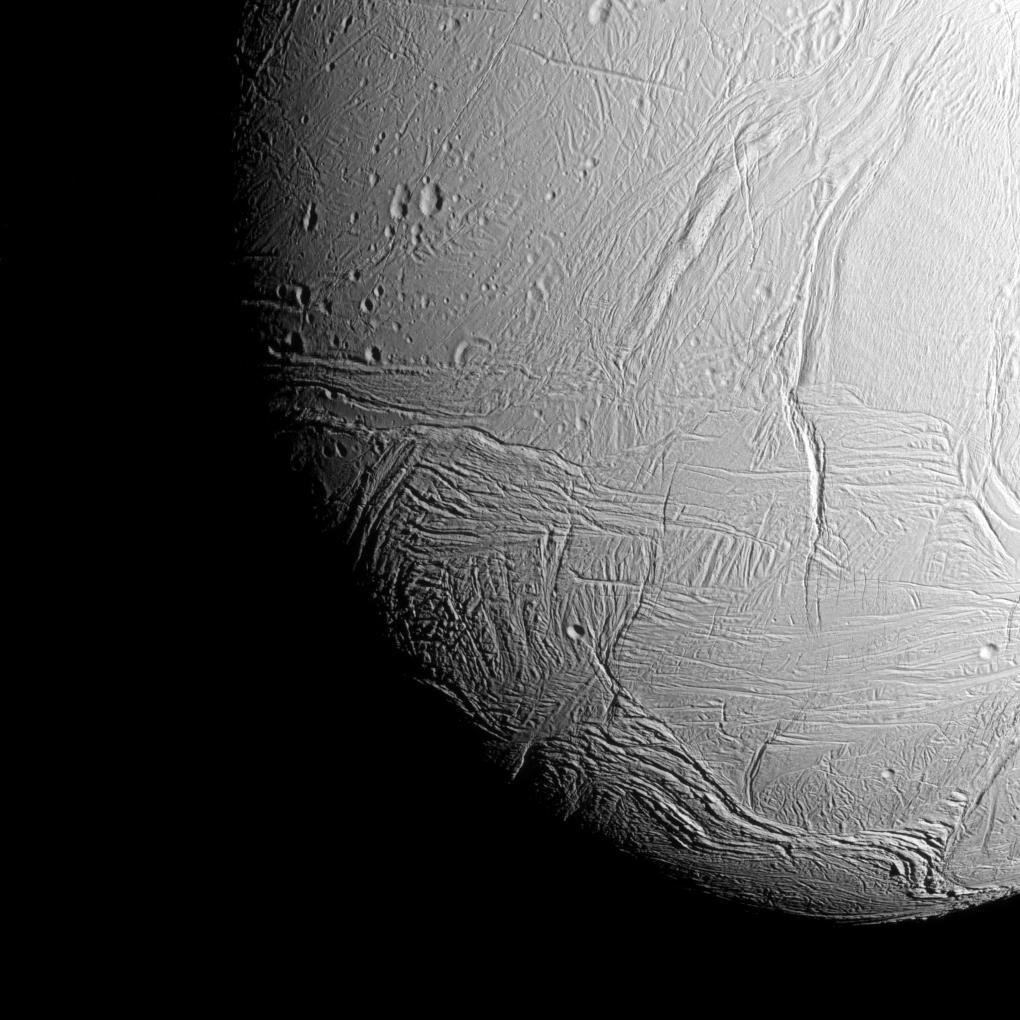 Enceladus' South Polar Region