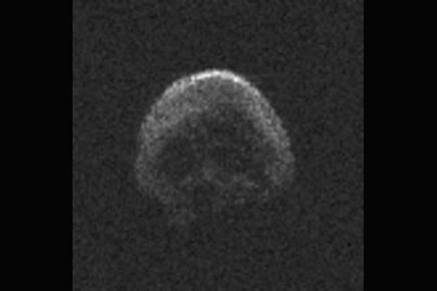 Boo! Halloween Asteroid Looks Just Like a Creepy Skull