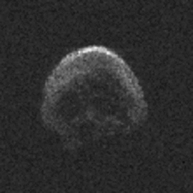 Skull-Shaped Halloween Asteroid Zips by Earth, a Treat for Scientists
