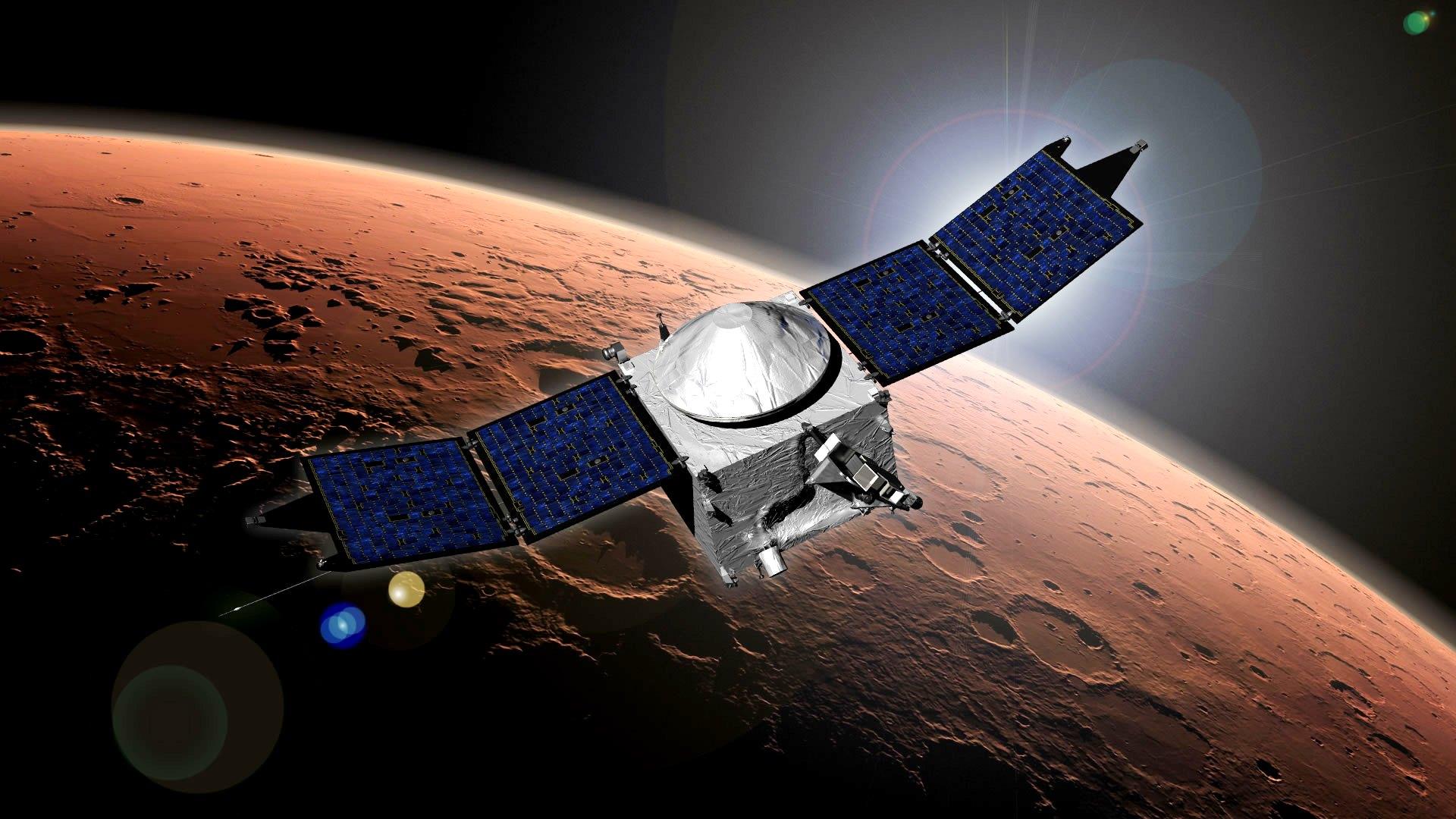NASA's MAVEN Mars Orbiter