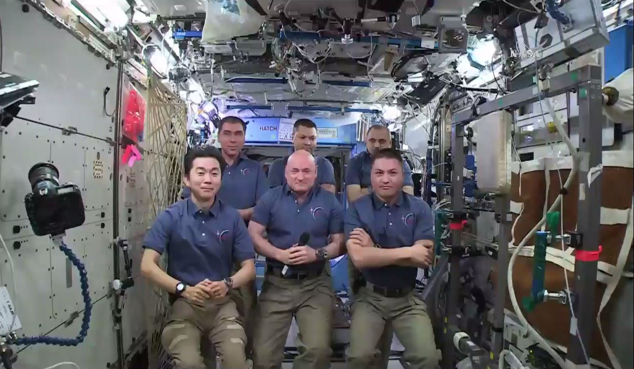 Space Station Crew Celebrates 15-Year Streak of Humans in Orbit