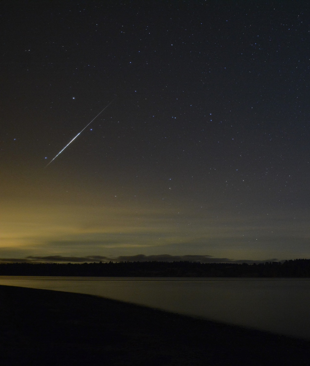 Meteor Over Vancouver Island