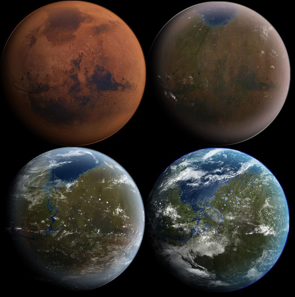 Bad News for Terraforming: Mars' Atmosphere Is Lost in Space