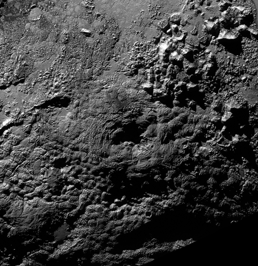 Icy Volcanoes May Erupt on Pluto