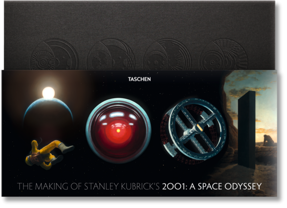 "The monolith-shaped ""Making Of"" book features ""2001: A Space Odyssey"" gems in in unusual format. <a href=""http://www.amazon.com/dp/3836559544?tag=space041-20&ascsubtag=[sitespace[catNA[art27791[pid3836559544NA[bbcmanual"">Buy ""The Making of Stanley Kubrick's '2001: A Space Odyssey'"" </a>"