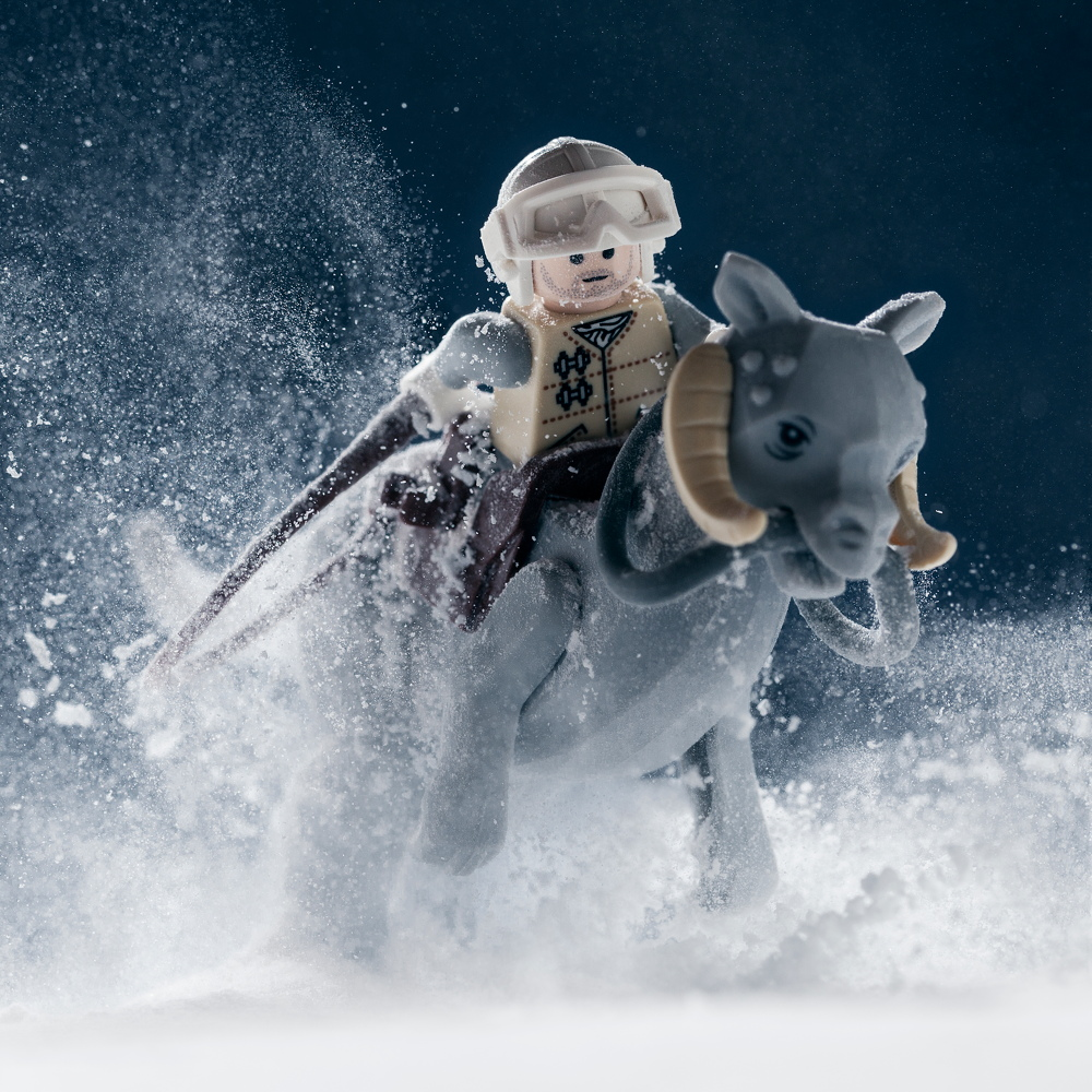 Awesome Lego Star Wars Photo Book Stages Scenes from a Galaxy Far, Far Away