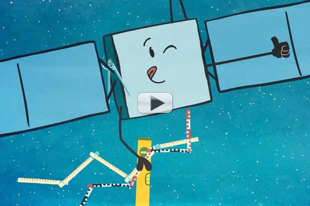 Rosetta and Philae Investigate a Comet - Cute Animated Short Video