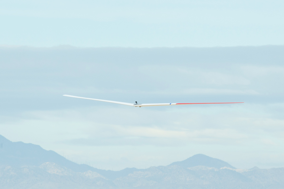 NASA's Innovative Drone Glider Prototype Aces Test Flight