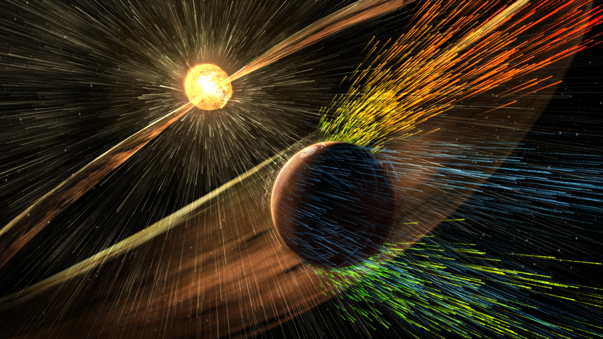 Mars' Lost Atmosphere: MAVEN Probe Scientist Explains New Finding