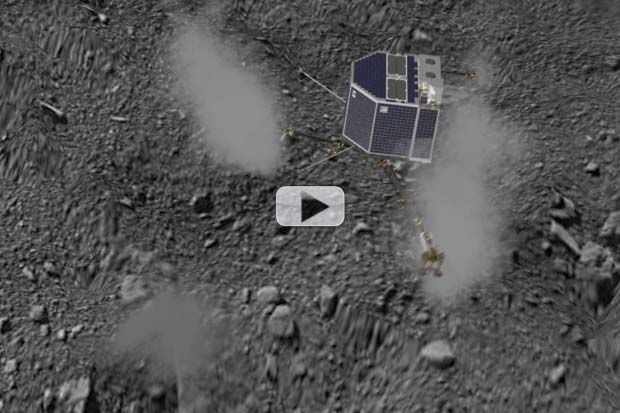 Philae's Lander's Bouncy Comet Landing Reconstructed In New Animation