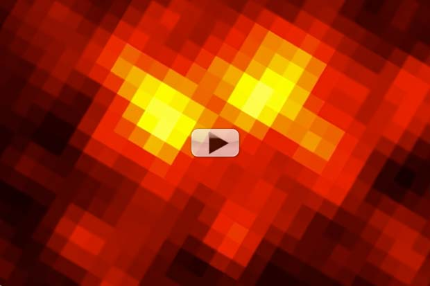 Gamma-Ray Blasting Pulsar Detected Outside Milky Way | Video