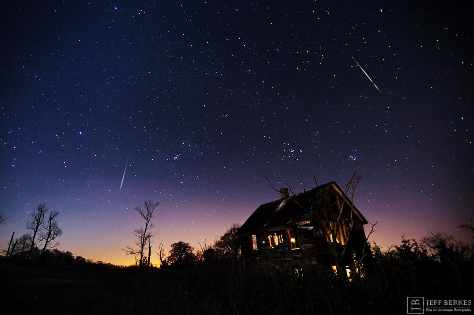 2012 Leonid Meteors