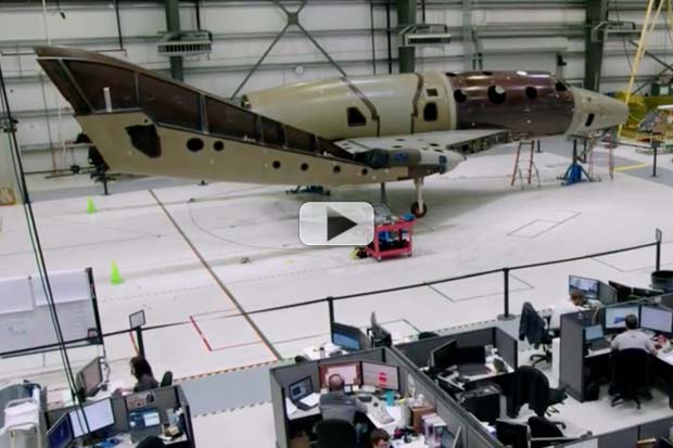 How Virgin Galactic Is Testing New SpaceShipTwo | Video