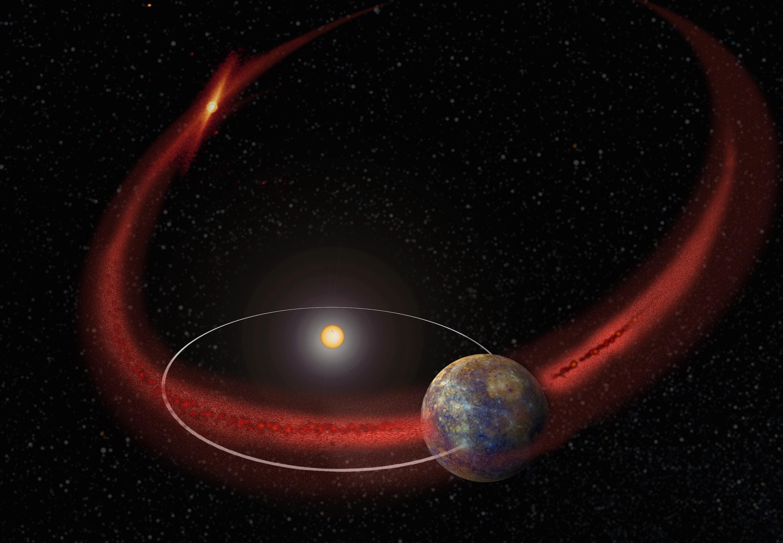 Mercury Encke Trail