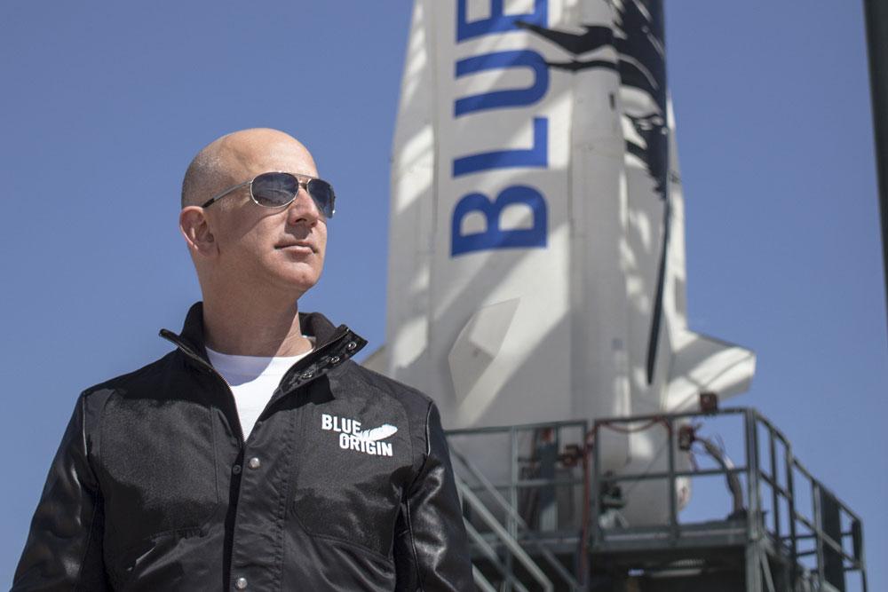 Jeff Bezos, Amazon.com, Blue Origin