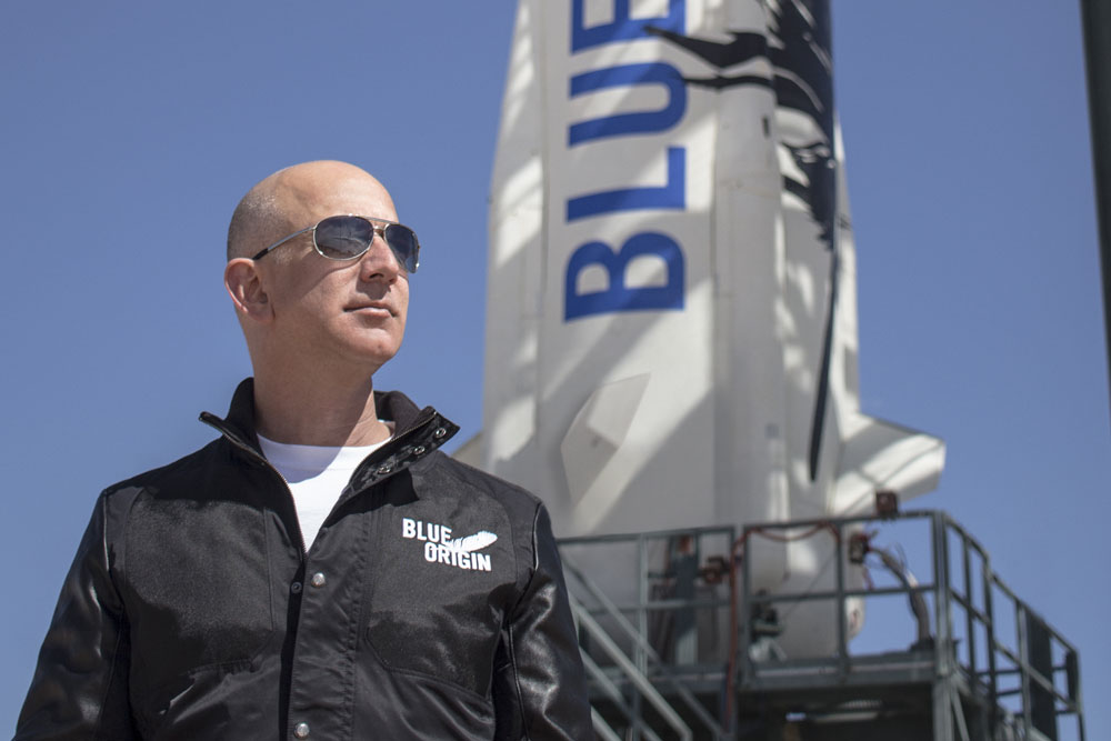 Spaceflight Is Entering a New Golden Age, Says Blue Origin Founder Jeff Bezos