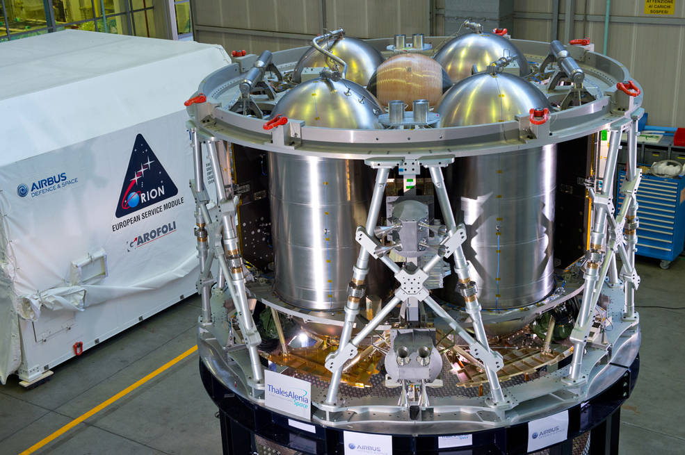 'Heart' of NASA's Orion Spacecraft to Undergo Stress Tests