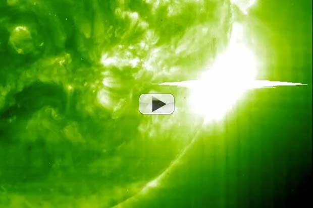 Scary X28 Solar Flare Revisited For Solar Probe's 20th Anniversary | Video